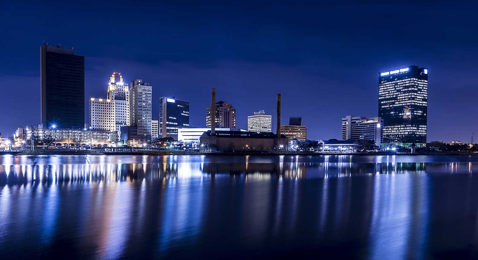 City of Toledo Skyline